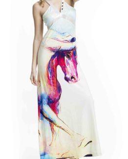 Úžasnédámské šaty Culito from Spain s motivem koně