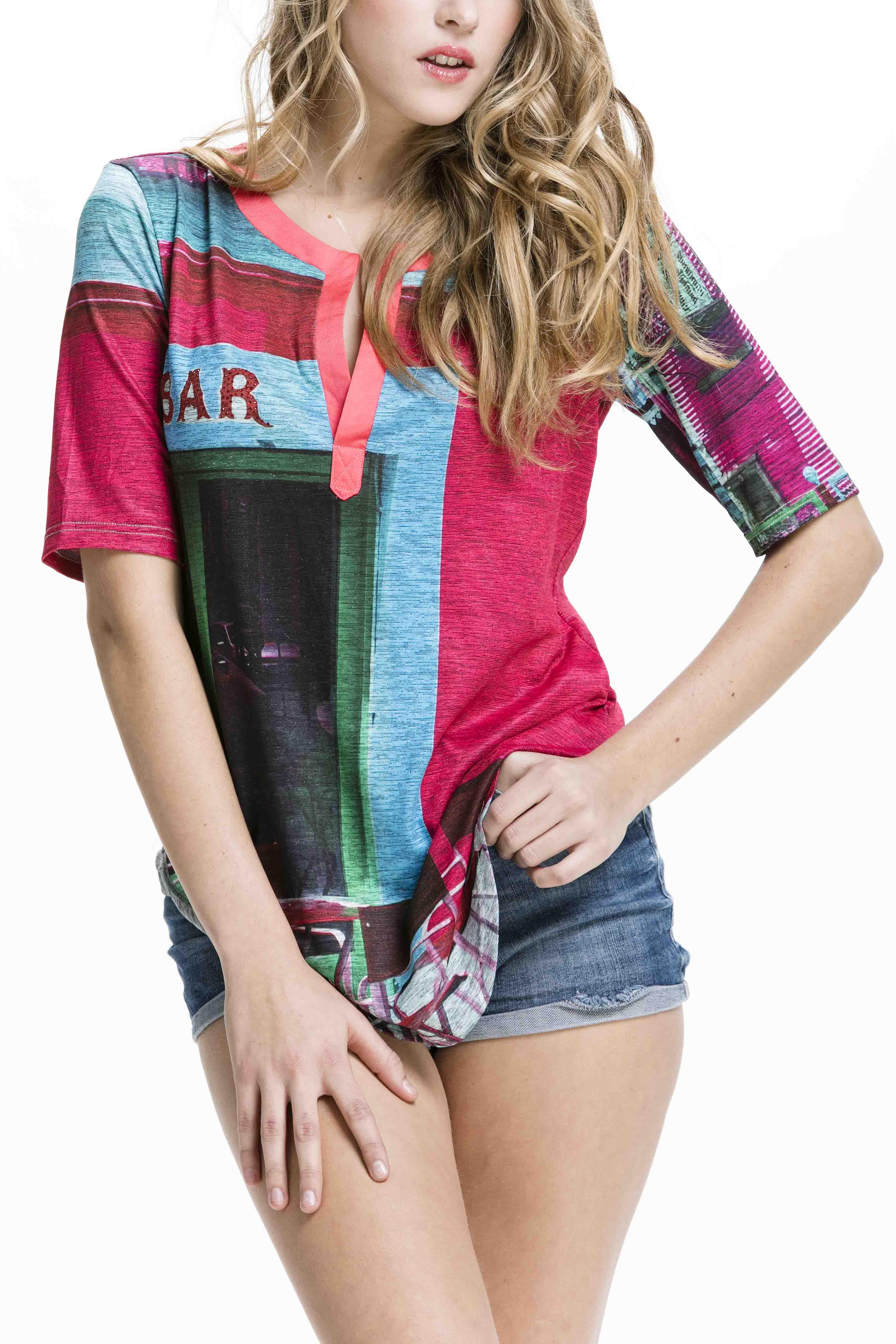 Krásné dámské tričko od značky Culito from Spain
