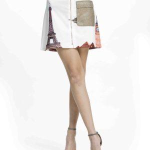 Unikátnídámská sukně Culito from Spain s motivy monumentů