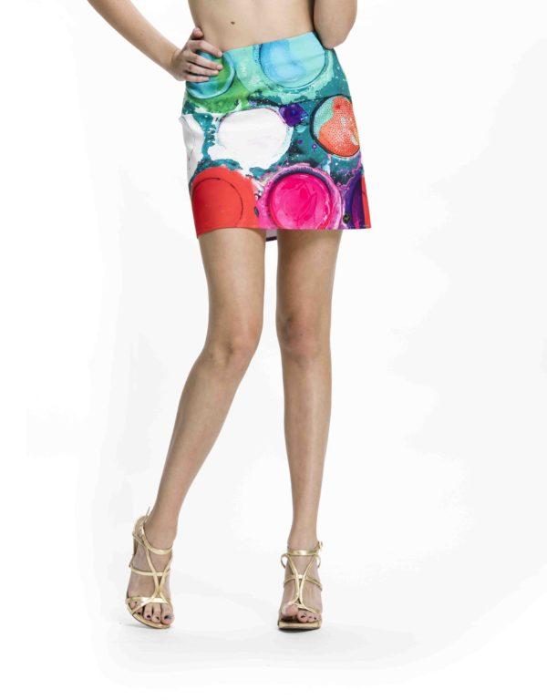 Nepřehlédnutelná mini sukně Culito from Spain z kolekce jaro/léto 2017