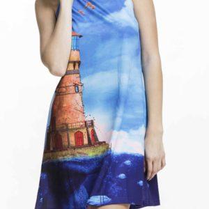 Nadčasovédámské šaty Culito from Spain smotivem majáku