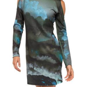 Krásnédámské šaty Culito from Spainv podzimním designu jsou z kolekce podzim/zima 2017 a dokonale padnou každé milovnici originálních módních kousků