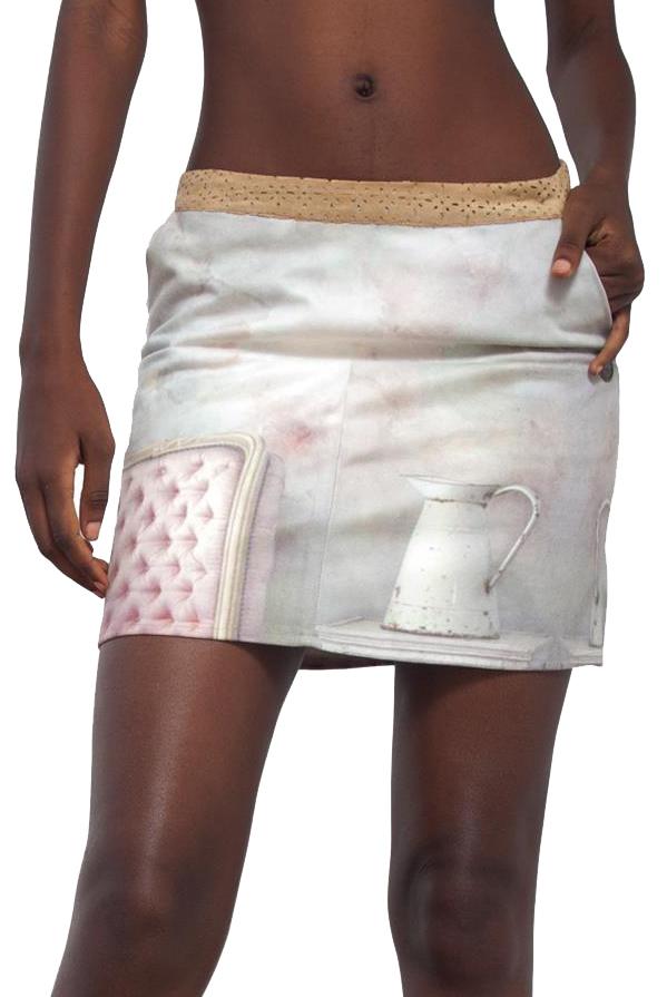Romantický motiv zajímavé sukně Culito From Spain z kolekce jaro/léto 2016