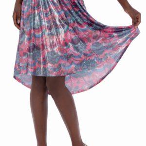 Blýskněte se s blýskavou sukníCulito from Spain!Atypický střih i design působí úchvatně a sukni snadno zkombinujete s jakýmkoliv jednobarevným vrškem.
