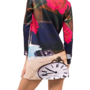 Vneste do všedních dnů trochu veselých barev! Tytodámské šaty Culito from Spainz kolekce podzim/zima 2017 rozzáří každý sychravý či smutný den a získají si vás i pohodlným střihem