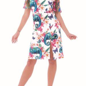 Změňte se jako chameleon! Odložte jednobarevné kousky a vsaďte na barvy odCulito from Spain!Těmto šatům rozhodně nechybí originalita