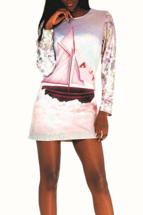 Příjemnédámské šaty Culito from Spains motivemloďky